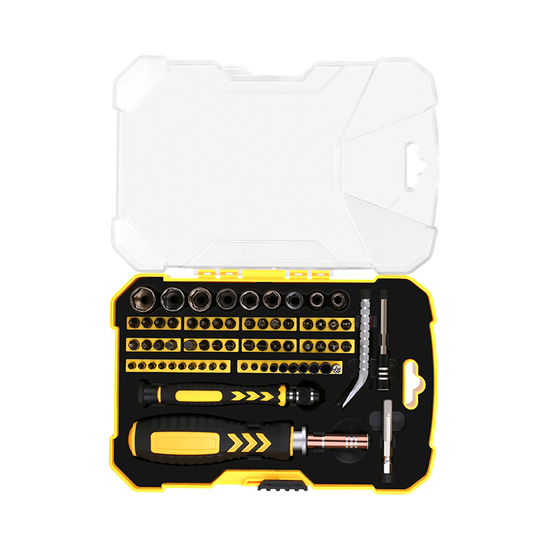 DEKOPRO LSD03 Repair Tool Kit Socket Screwdriver Kit Household Screwdriver Set Magnetic Screwdriver Set for Household