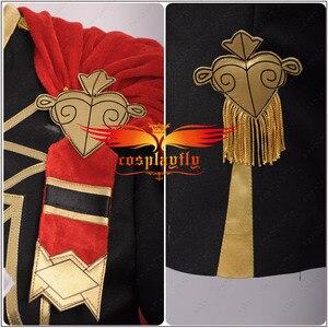Image 5 - Emblema de fuego: disfraz de batalla de tres casas para niñas, traje de Cosplay para mujeres adultas, Top corto, capa, Halloween