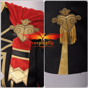 Image 5 - Fire Emblem: Three Houses Edelgard Fancy Battle Stage Girls Cosplay Costume Adult Women Outfit Top Shorts Cloak Stock Halloween