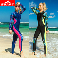 SBART Professional Women Lycra Wetsuit 2018 New Diving Suit Swimwear Full Body Rash Guard Jellyfish Clothes Snorkeling Wetsuits