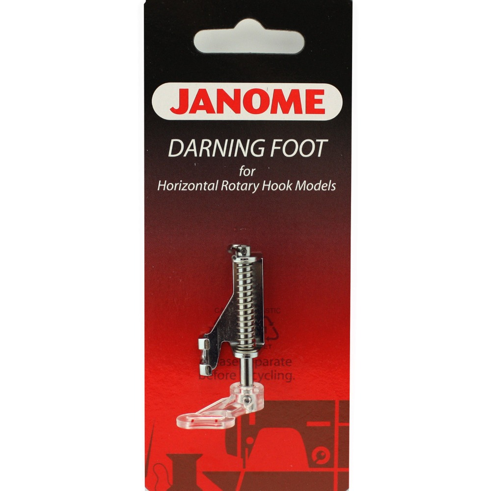 For JANOME Sewing Machine EMBROIDERY / DARNING FOOT - Cat B - Part No. 200349000