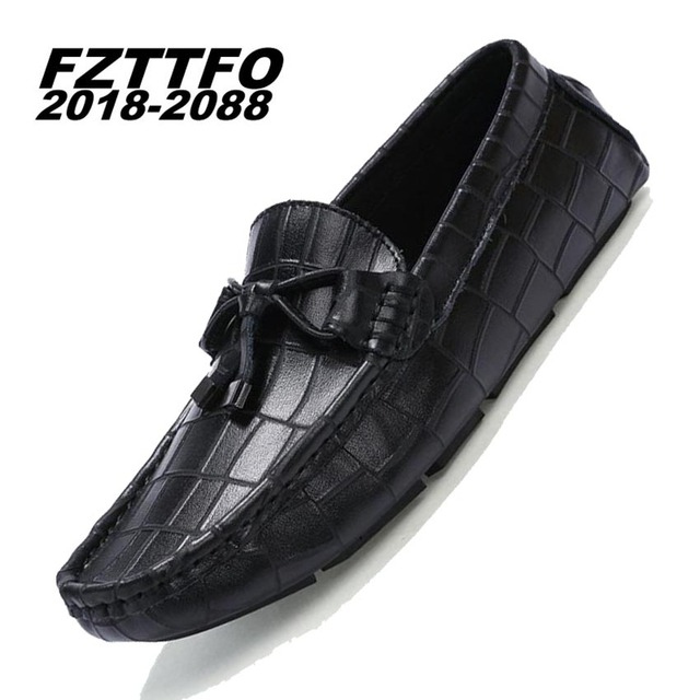 Men's 100% Genuine Suede Leather Driving Shoes,New Moccasins Slip On Handmade Shoes,Brand Design Flats Loafers For Men K312