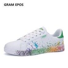 Gram Epos мужской Повседневное обувь Мужская обувь дышащая Tenis белые туфли Super Star Zapatilla stans Мужская обувь плюс размер 35-45