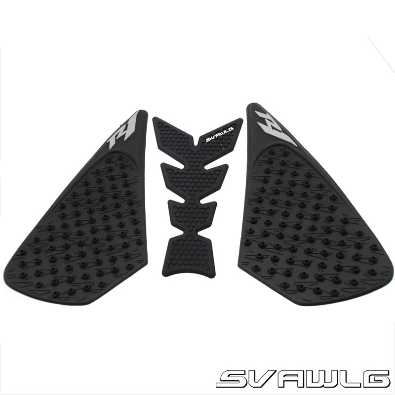 Decals & Stickers Motorcycle Anti Slip Oil Fuel Tank Traction Pad Protector Knee Side Decal Sticker For Yamaha Yzf R1 Yzf-r1 Yzfr1 2004 2005 2006 At Any Cost