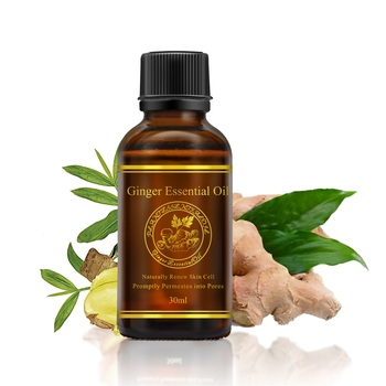 Ginger Essential Oil Spa Body Massage Oil Natural Pure Ginger Extract Hotel Bathroom Use Relieve Stress Ginger Oil 30ML TSLM1 фото