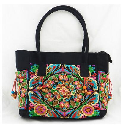 цены New Coming Fshion Women's Casual Tote!Hot Nice embroidered Shoulder&Handbags High-quality national Shopping bags casual handbag