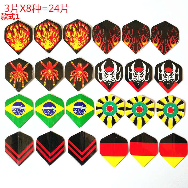 6/9/12/24/30PCS Mixed Style Professional Darts Flying Darts Accessories Outdoor Indoor Games