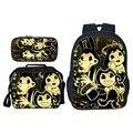 3 шт./компл.  лидер продаж  детские школьные сумки с героями мультфильмов и чернилами  Детские рюкзаки для мальчиков  школьная сумка для студе...