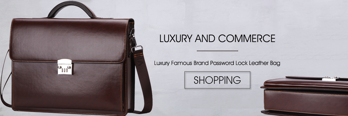 93c77a408207 VICUNA POLO Ultra-thin Mens Briefcase with Hard Handle Lightweight Men  Leather Bags For Laptop Classic Man sacoche homme marque