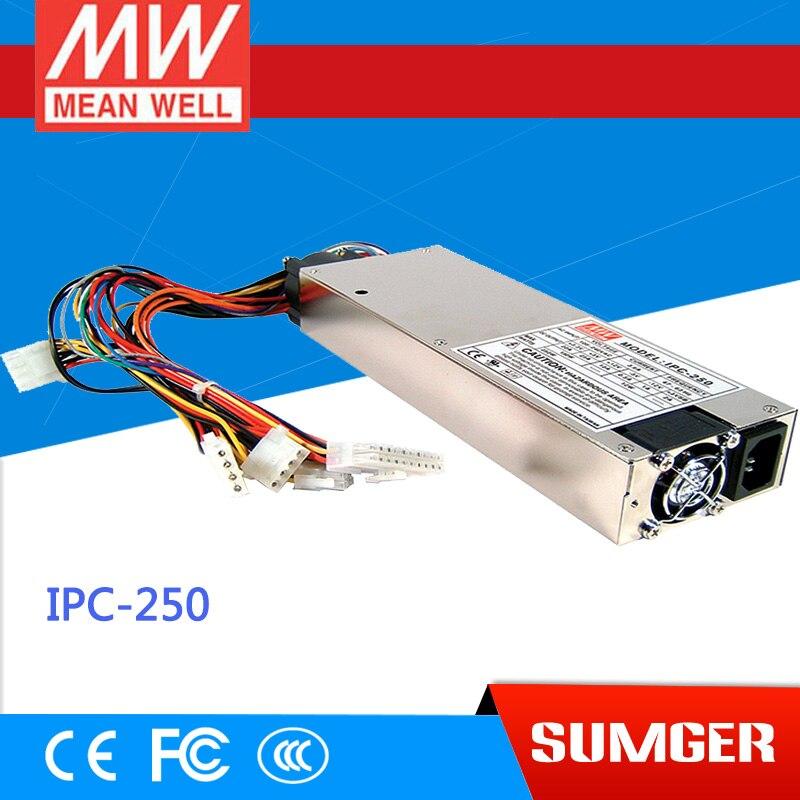 все цены на [Sumger2] MEAN WELL original IPC-250 meanwell IPC-250 250W Industrial 1U ATX 12V/P4 PC Power Supply онлайн