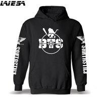 LIESA Hoodies BTS Sweatshirt Men Women BTS Kpop Hoodie Streetwear Hip Hop Oversized Sweatshirts Album DNA