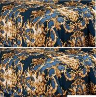 Новый Дизайн 2016 оптом Широкий Ширина 240 см Отпечатано Pure шелковый атлас Ткань для постельных принадлежностей наволочки лист и пододеяльник