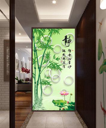Custom entrance door glass film sticker elevator door <font><b>wardrobe</b></font> <font><b>sliding</b></font> doors wooden doors decorative sticker bamboo