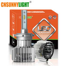 CNSUNNYLIGHT D1S D2S D3S D4S D2H LED Car Headlight Bulbs Bi-beam 8500Lm CSP Led Chips Automotive Lights For Car Projector Lens - DISCOUNT ITEM  25% OFF Automobiles & Motorcycles