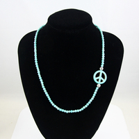 Natural Turquoise Bracelet With Stones Bracelets Bangles Fashion Bracelet 2013 Charm Bead Bracelet Necklaces Pendants Nkej66