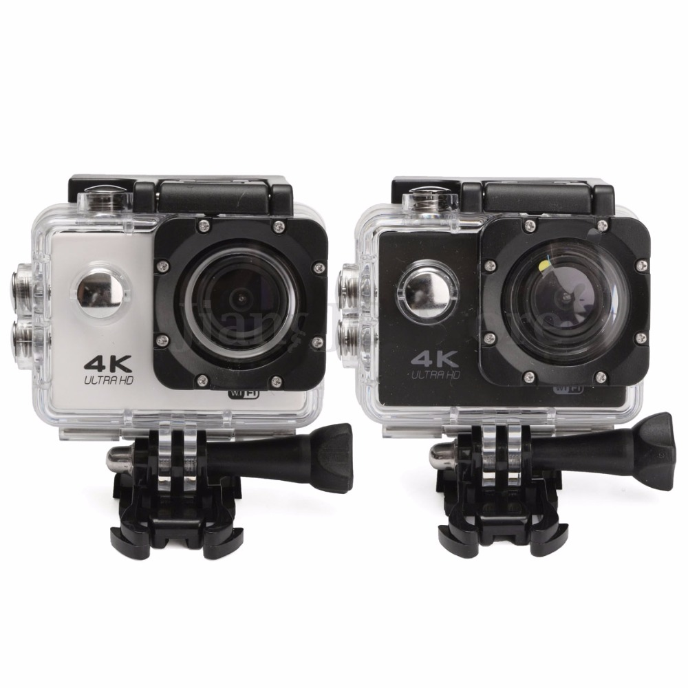 Ultra HD 4K UHD Action Sport Video Camera Waterproof WiFi Camcorder FHD 1080P DV Cam Wide Angle Go Deportiva 2 inch LCD Pro 32G