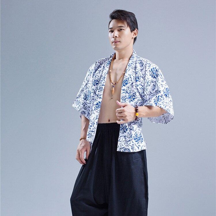 Imprimé vent Vent Mâle 2018 Été Hawaïenne Hommes Chart Loisirs En see Cardigan National Chart Chinois See Blusas Coton Facile Manteau Coupe De Chemise Oxq8nEpvpY