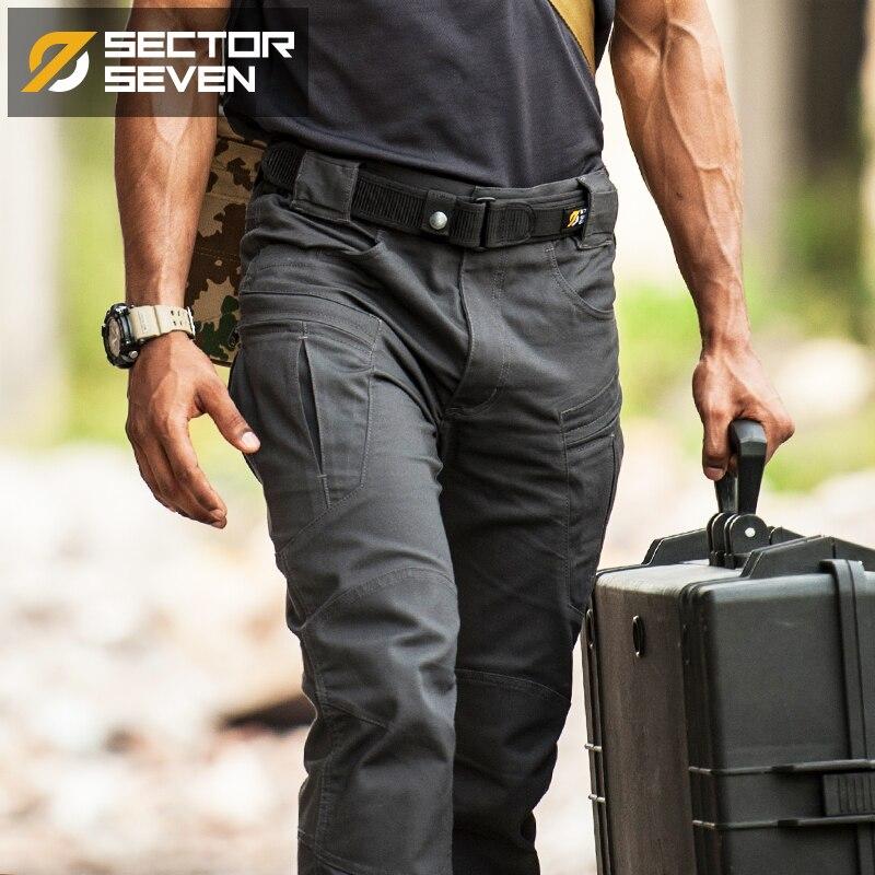Herrentaschen Sektor Sieben Herren 1000d Nylon Casual Aktentasche Solide Männer Taktische Handtaschen