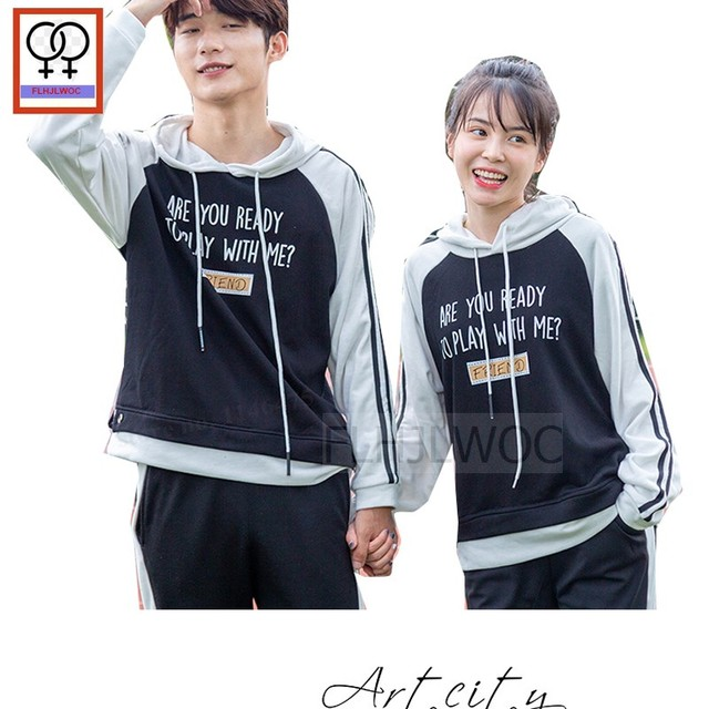 Matching Couple His Her Pullover Hoodie Sweatshirt Valentine S Day