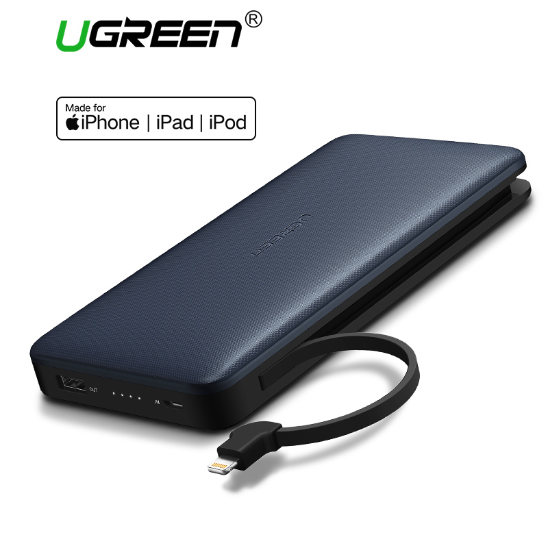 Ugreen Power Bank 20000mah Portable Fast Charging Powerbank For IPhone X Huawei P20 LG Xiaomi External