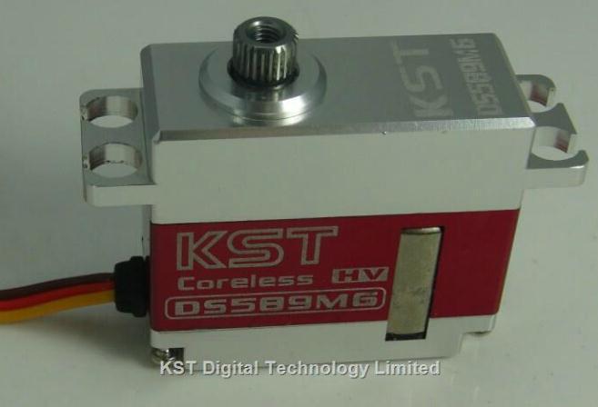 KST DS589MG Align 500 servos with the swashplate high pressure gear 9 2KG