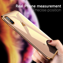 Moskado Shockproof Cases For iPhone 7 8 Plus XS Max Luxury Back Cover 6 6S X XR Business Plating Phone Case Capa