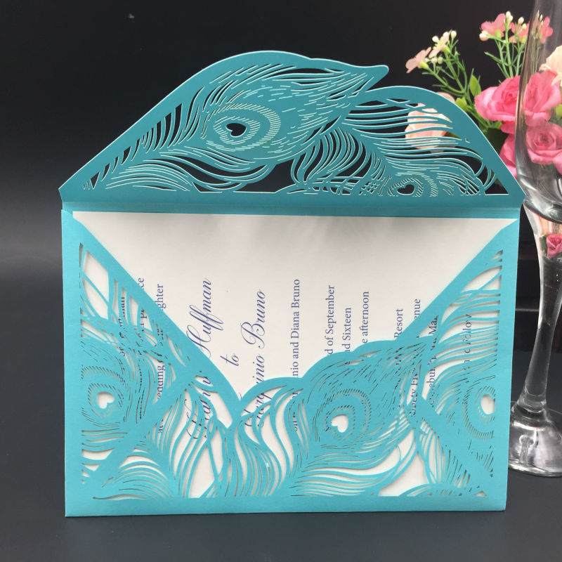 Wedding Invitation Card Paper: 2018 Latest Art Paper Wedding Cards Invitation Blank