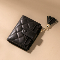 JONBAG ins Small wallet women's Korean version pocket pocket short wallet mini lovely girl heart coin purse