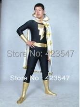 DC Comics Marvel Family Black Adam Superhero Costume Halloween Party Costumes-Zentai Suit