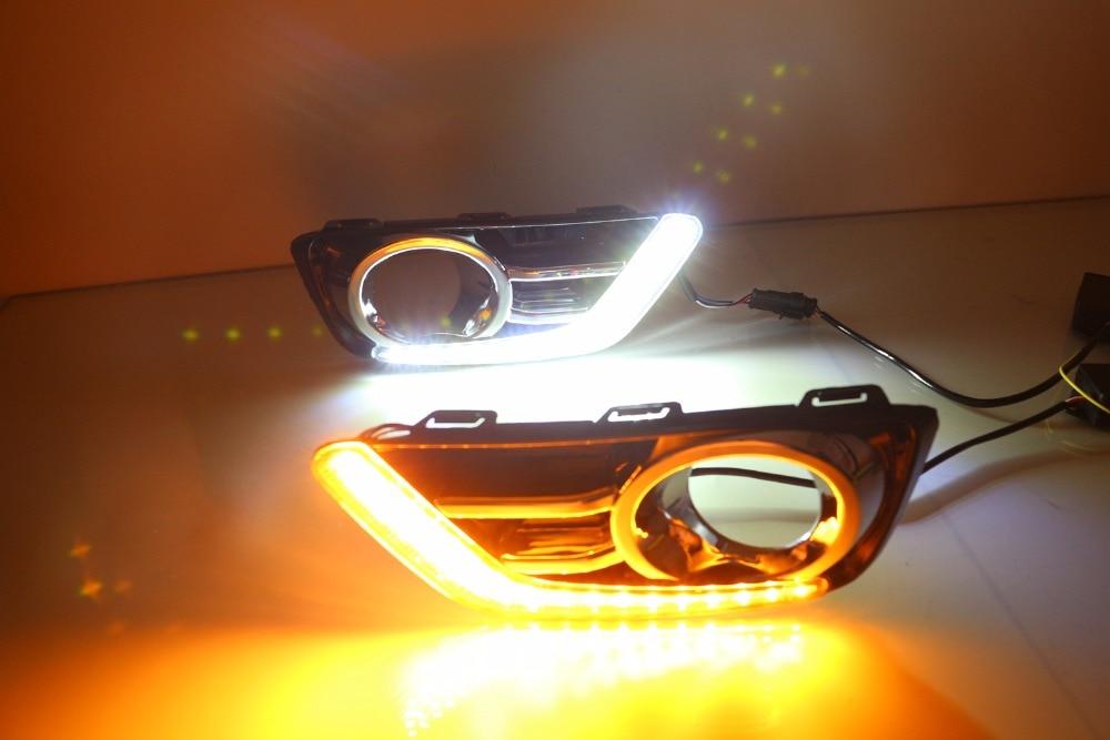 Osmrk Сид DRL дневного света для Honda грайц 2015 2016 2017, верхнее качество с желтый сигнал поворота, Сид версия