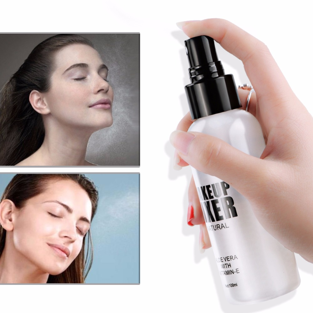 Professional Liquid Makeup Foundation Setting Spray Oil-control Hydrating Face Natural Base Fixer Matte Make Up Foundation image