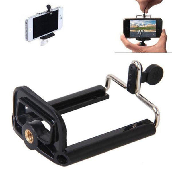 Cell Phone Holder mount bracket Adapter Clip