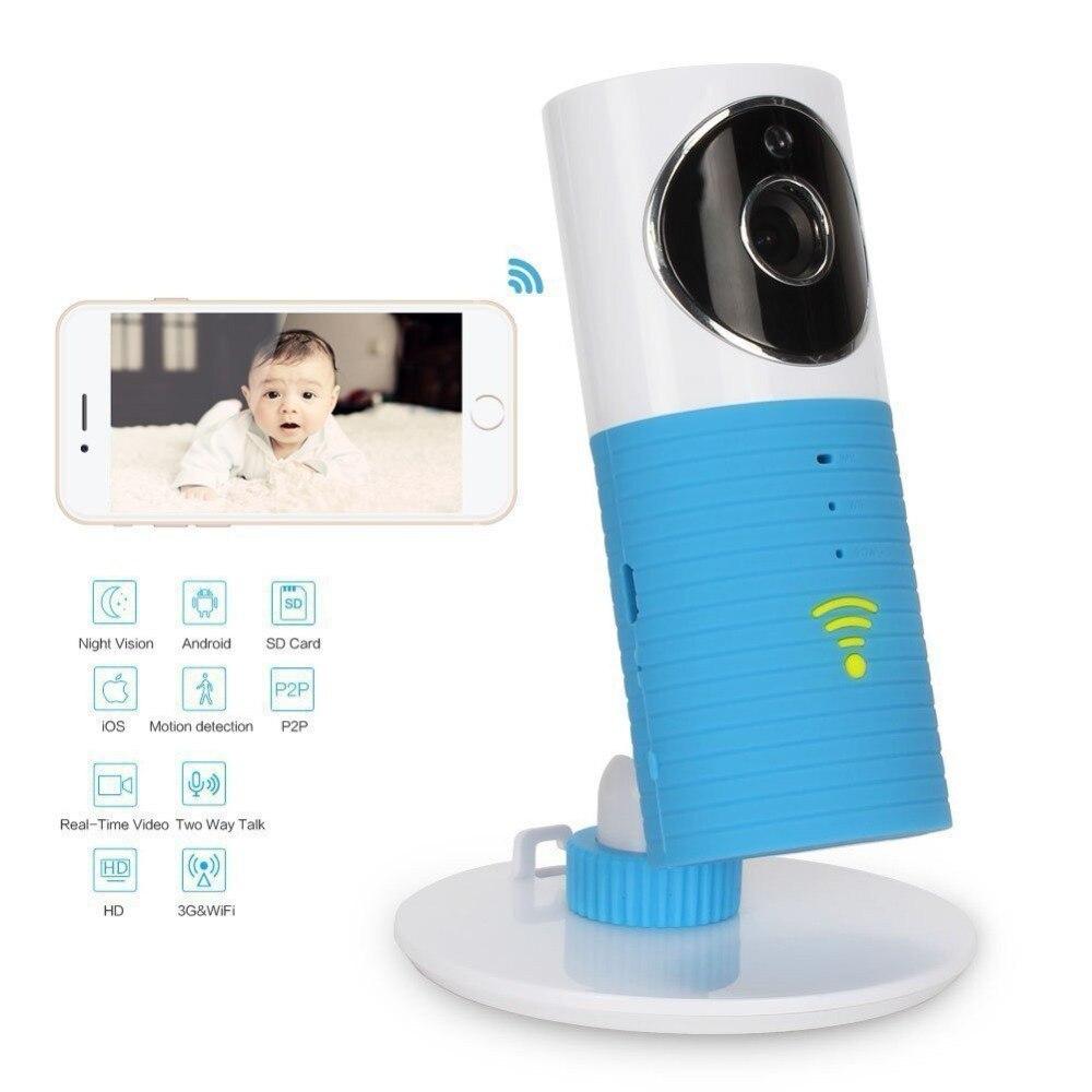 Sans fil Wifi bébé moniteur caméra intelligente alertes vision nocturne interphone soutien iOS Android téléphone Intelligent chien Intelligent