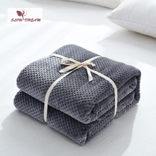 Slowdream Fashion Soft Flannel Pineapple Blanket Aircraft Sofa Office Adult Car Travel Warm Throw For Couch