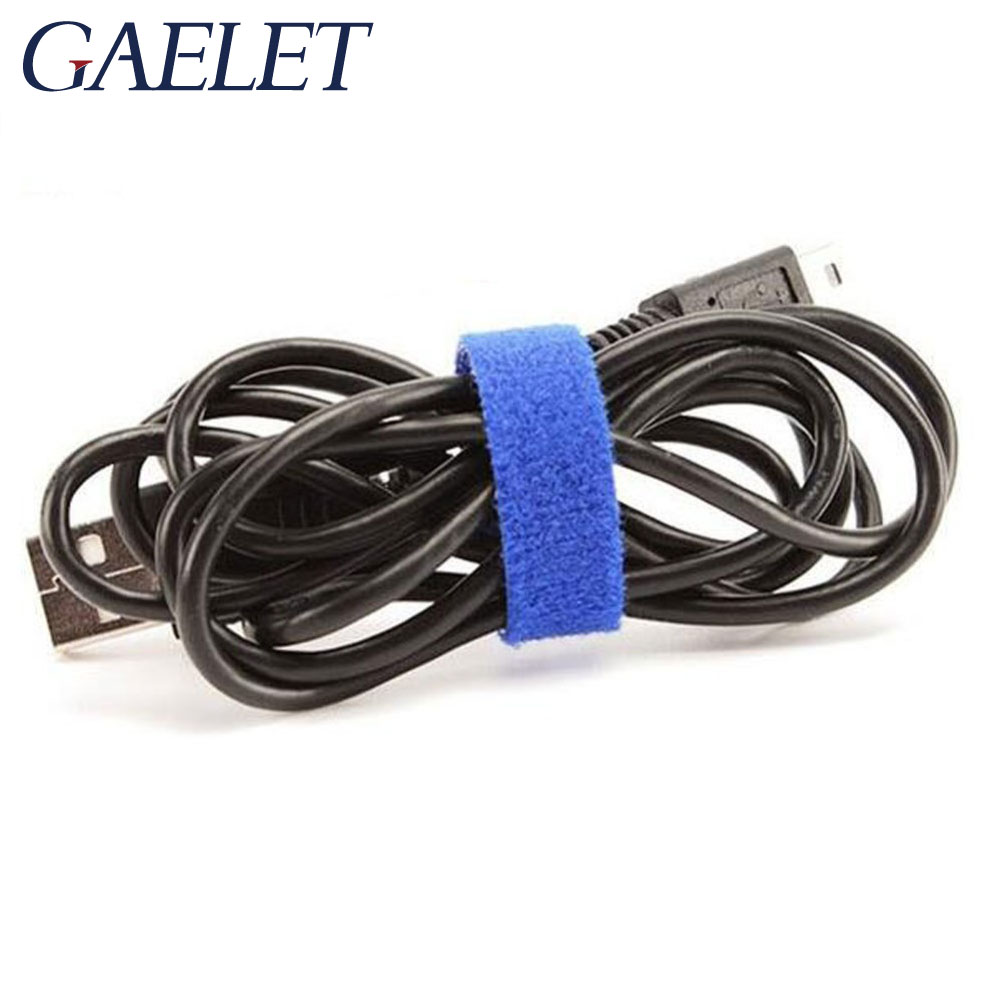 10 100mm Nylon Reusable Cable Ties with Eyelet Holes back cable tie nylon hook loop fastener management ZK30 in Cable Ties from Home Improvement