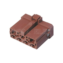цена на Male connector female wire connector 7 pin connector terminal Plugs socket Fuse box Wire harness Soft Jacket DJ7071-6.3 7.8-21
