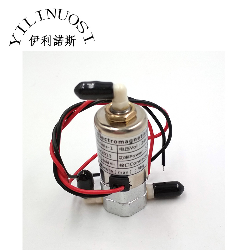 Solenoid Electromagnetism Valve Magnetic Valve for Wide Format Printers DC24V 8W in Printer Parts from Computer Office