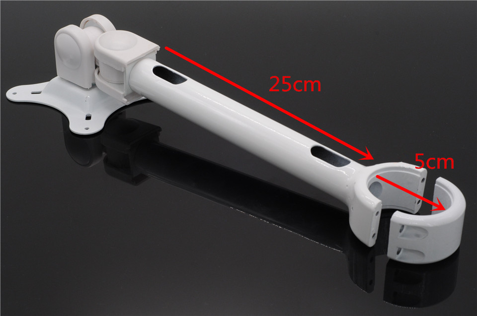 Sale Dental Unit Post Mounted LCD Monitor Intraoral Camera Mount Arm Metal
