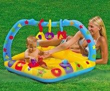 2016 Inflatable swimming pool baby pool tub sandbox learning inflatable ball pool bottom Baby Tubs