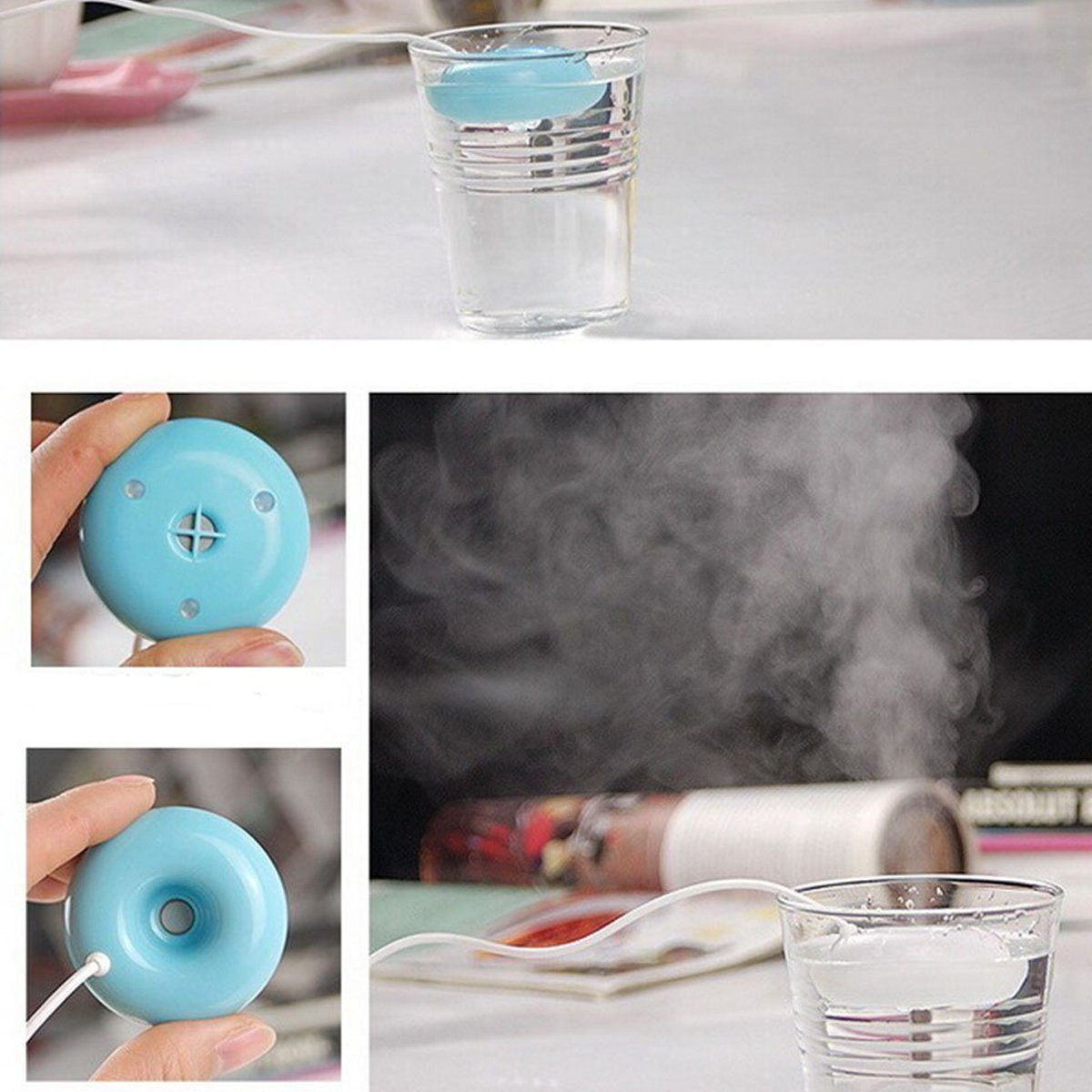 Donut Humidifier Air Purifier