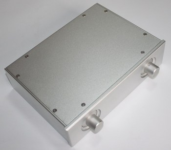 WA29 silver all aluminum casing DIY front chassis power amplifier case 190*270*70MM box