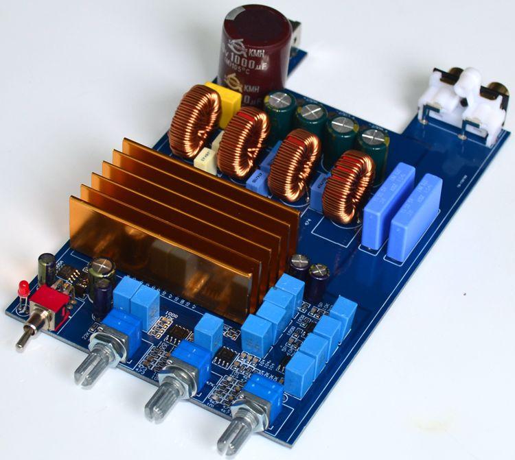 GHXAMP TPA3255 Digital Hifi Amplifier Board 150W*2+300W Class D 2.1 Channel High Power Amplifier Board DC 30V-48V 1pc цена