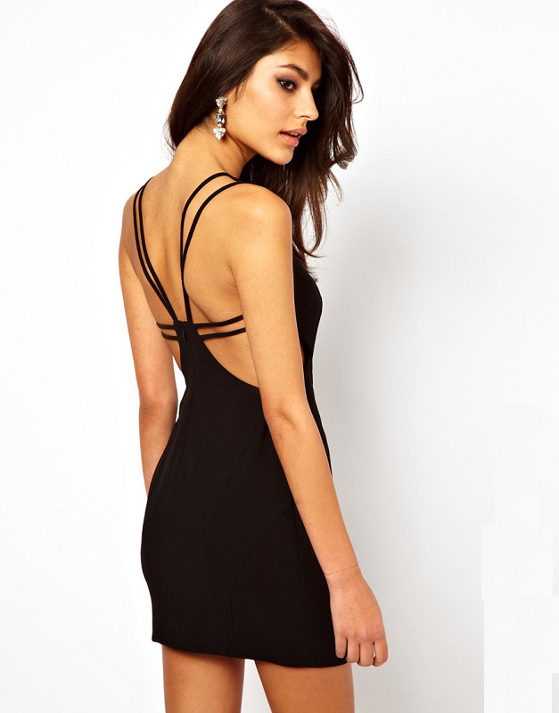 Popular Open Back Short Tight Dresses-Buy Cheap Open Back Short ...