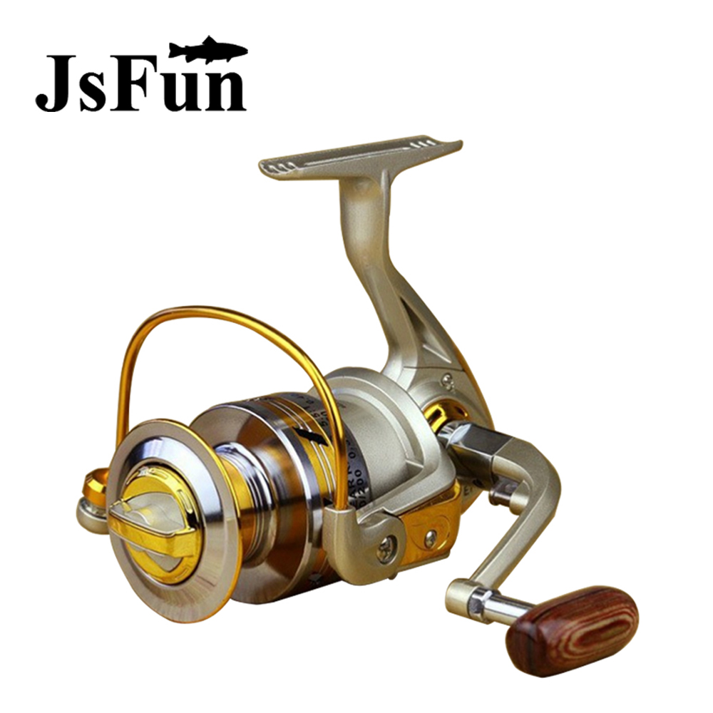 1000-7000 Series Spinning Reel Metal Spoon 10 Ball bearings 5.5: 1 Spinning coil Brazo plegable Carretes de pesca en venta FR122