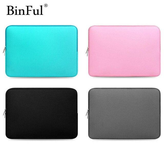 BinFul 최신 노트북 슬리브 가방 케이스 맥북 에어 프로 레티 나 13 케이스 커버 맥북 에어 13 케이스 공기 13