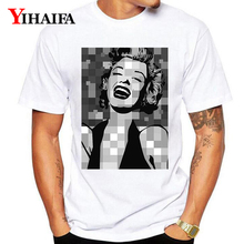 New Fashion Design Marilyn Monroe 3D Printed T-shirt Short Sleeve Women Men Casual Customized Tee Hipster Unisex Funny Tops