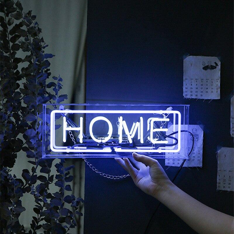 Coloré Bar Pub signe néon ampoule Tube lampe vrai verre artisanal personnalisé conception néon bière Pub décor éclairage AC110V 220V
