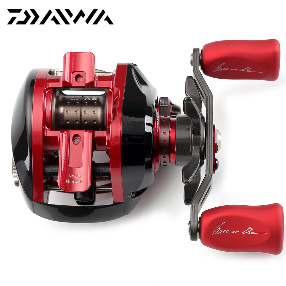 54460c98426 100% Original DAIWA STEEZ LIMITED SV 103H TN 103HL TN Right Left Hand  Baitcasting Fishing Reel 6.3:1 148g Max Drag 4kg 11+1BB-in Fishing Reels  from Sports ...