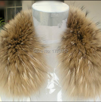 True nature of raccoon fur collar men and women the fox fur collar fur raccoon pure color fur shawl collar silk bag mail