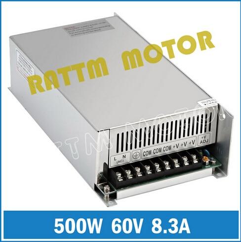 [Livraison EU] 500W 60V DC interrupteur alimentation! Le moulin moussant de sortie simple de la puissance 60V a coupé le Plasma 8.3A de graveur de Laser - 2